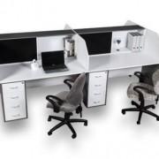 melamine_desking_e-space2_4way_cluster