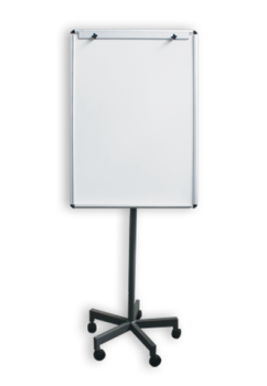 NON-MAGNETIC-FLIP-CHART-ON-STAND