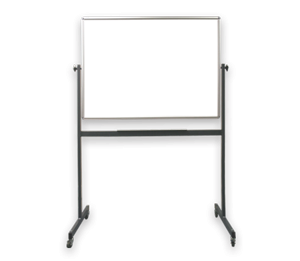 DOUBLE SIDED NON-MAGNETIC WHITE BOARD