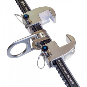 Two Jaw sliding fixed beam anchor